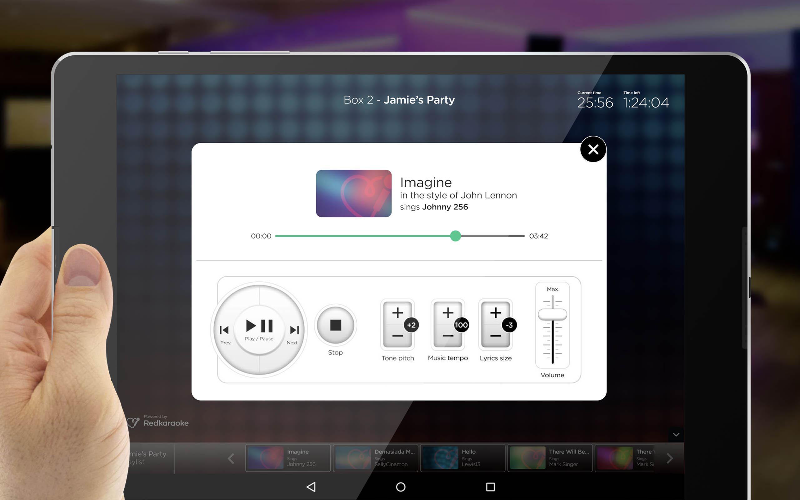 RedKaraoke Pro App  Professional karaoke software for Android - APK