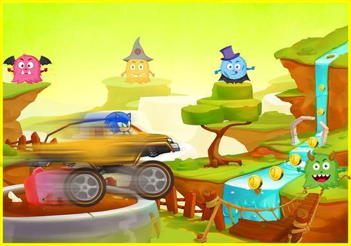 Racing Sonic Hill apk screenshot