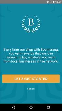 Boomerang Rewards poster