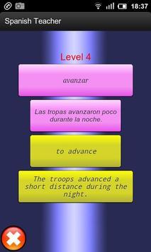 Spanish Teacher apk screenshot
