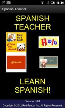 Spanish Teacher poster