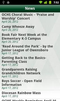 Owensboro Catholic Schools apk screenshot