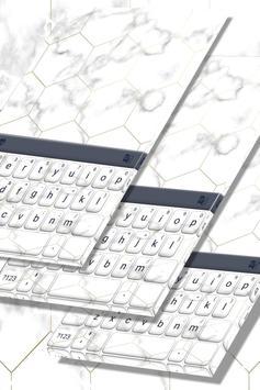 White Marble Keyboard screenshot 4