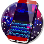 Car Keyboard Neon Theme icon