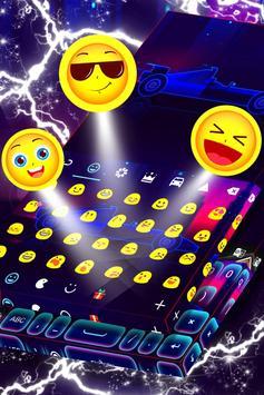 Car Keyboard Neon Theme screenshot 3