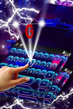 Car Keyboard Neon Theme screenshot 1