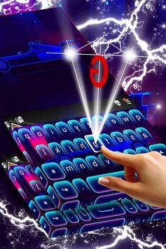 Car Keyboard Neon Theme screenshot 2