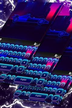 Car Keyboard Neon Theme screenshot 4