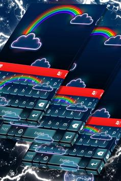 Cool Neon Keyboard apk screenshot