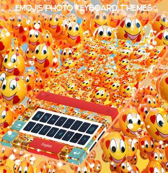 Emojis Photo Keyboard Themes apk screenshot