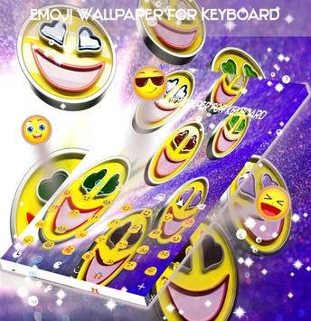 Emoji Wallpaper for Keyboard screenshot 2