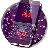 Bike Ride Keyboard Theme icon