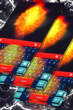 Fire Flower Keyboard Theme poster
