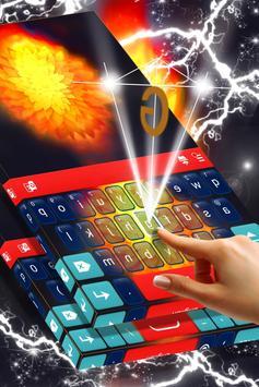 Fire Flower Keyboard Theme screenshot 1