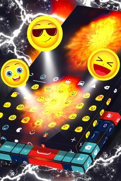 Fire Flower Keyboard Theme screenshot 4