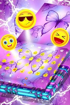 Free 2017 Butterfly Keyboard apk screenshot