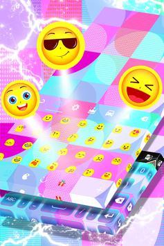 Color Block Keyboard Theme screenshot 3