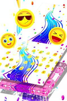 Rainbow Theme Keyboard apk screenshot