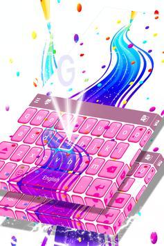 Rainbow Theme Keyboard poster