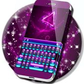 Neon Purple Keyboard Themes icon