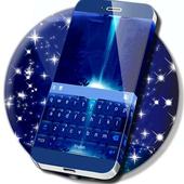 Neon Waterfall Keyboard icon