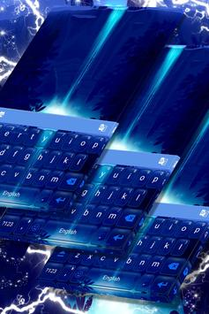 Neon Waterfall Keyboard screenshot 4