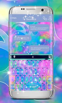 New Theme 2018 Keyboard poster