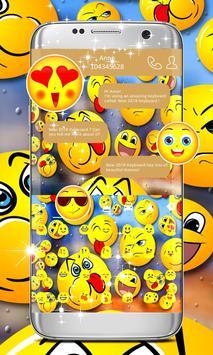 2018 Emoji Keyboard screenshot 1
