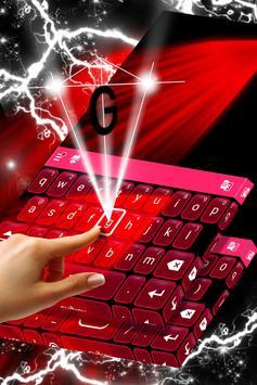 Red Blood Keyboard screenshot 1