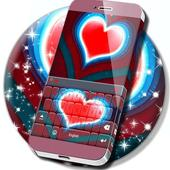 Red Heart Keyboard icon