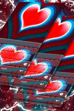 Red Heart Keyboard screenshot 4
