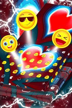 Red Heart Keyboard screenshot 3