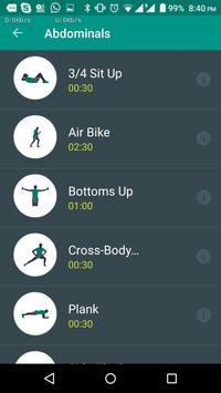 FitnessWorkout screenshot 3