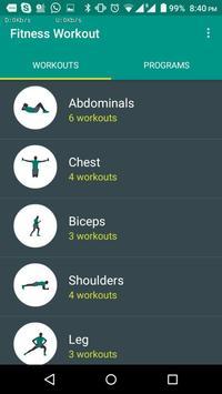 FitnessWorkout screenshot 4