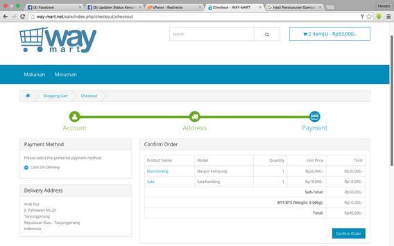 Way-Mart apk screenshot