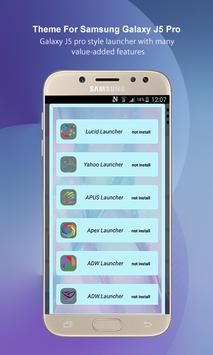 Theme Launcher for Galaxy J5 Pro poster