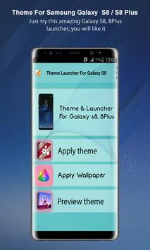 Theme Launcher For Galaxy A8 screenshot 3