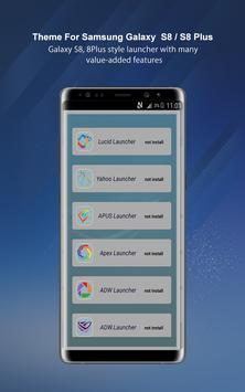 Theme Launcher For Galaxy A8 screenshot 11