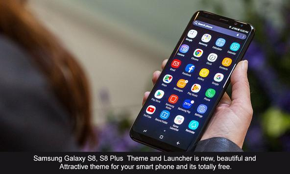 Theme Launcher For Galaxy A8 screenshot 2