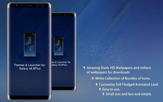 Theme Launcher For Galaxy A8 screenshot 7