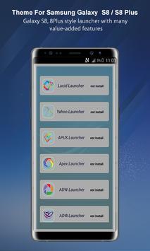 Theme Launcher For Galaxy A8 screenshot 4