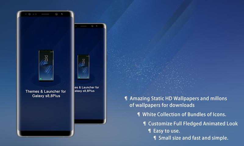 Theme Launcher For Galaxy S8 And S8 Plus For Android Apk