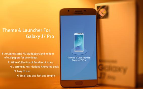 Theme Launcher for Galaxy J7 Pro screenshot 3