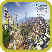 Assassins Creed Map for MCPE icon