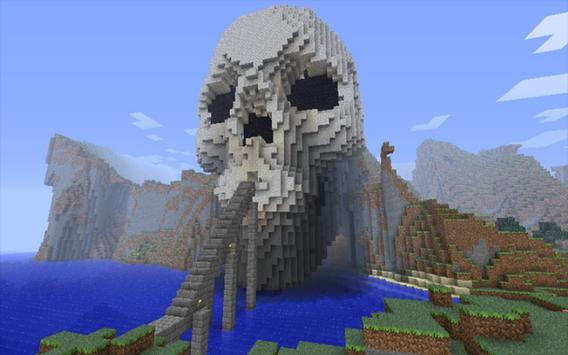 Skull Island Map for MCPE poster