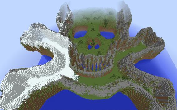 Skull Island Map for MCPE screenshot 5