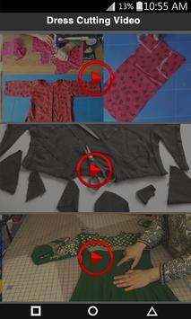 Dress/Clothes Cutting And Stitching Videos screenshot 3