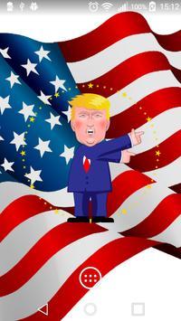 Trump Clock Widget And Themes poster