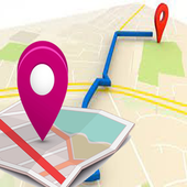 GPS Navigation Place Finder icon