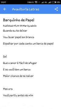 anavitoria letras screenshot 1